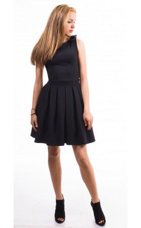 Плисирана рокля Кендра