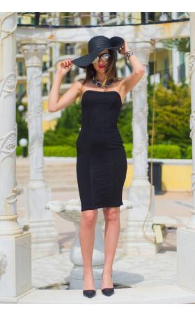 Черна рокля Николет