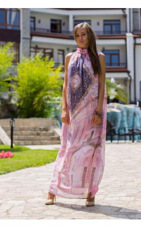 Свободна дълга рокля Аделин