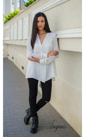 Ежедневна свободна бяла риза