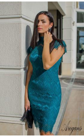 Дантелена рокля Petrol