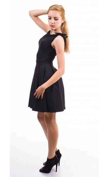 Плисирана рокля Кендра_13170