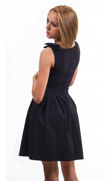 Плисирана рокля Кендра_13172