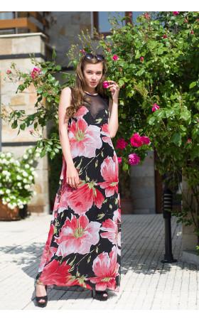 Дълга рокля Флорина