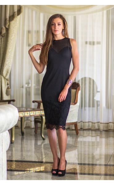 Дантелена рокля Ванеса_13538