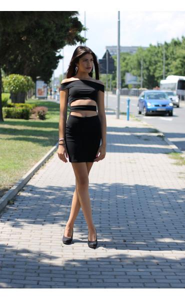 Малка черна рокля Трейси_13641