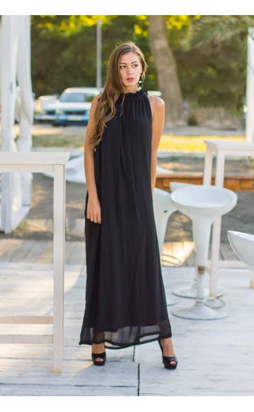 Дълга рокля от шифон Ира_13659