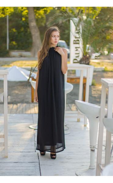 Дълга рокля от шифон Ира_13661