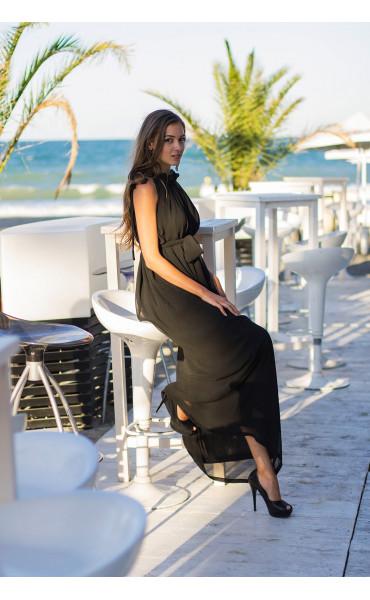 Дълга рокля от шифон Ира_13662