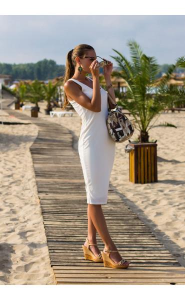 Спортно елегантна рокля Сюзън _13708