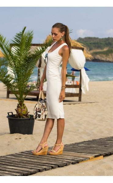 Спортно елегантна рокля Сюзън _13713