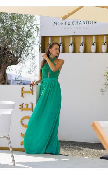 Дълга лятна рокля Клое_13769