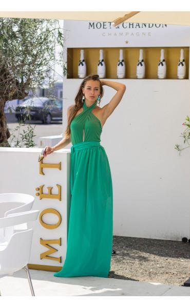 Дълга лятна рокля Клое_13770