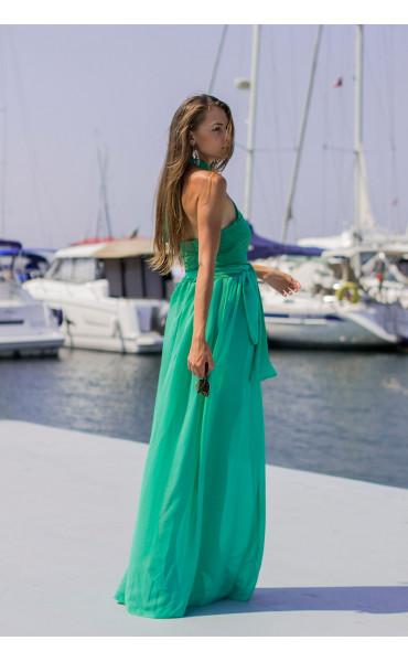 Дълга лятна рокля Клое_13771