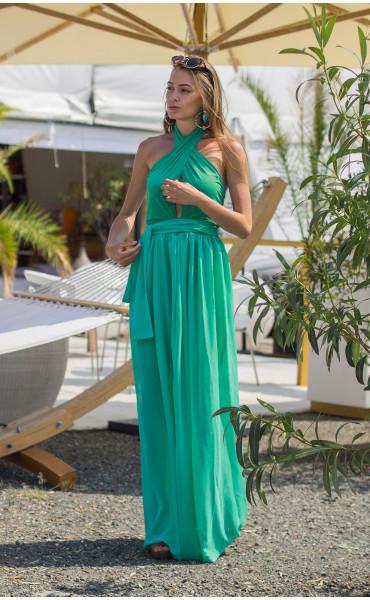 Дълга лятна рокля Клое_13772