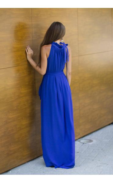 Елегантна рокля в синьо  Даниел_13831