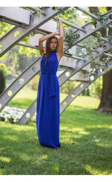 Елегантна рокля в синьо  Даниел_13833