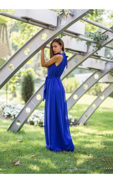 Елегантна рокля в синьо  Даниел_13834
