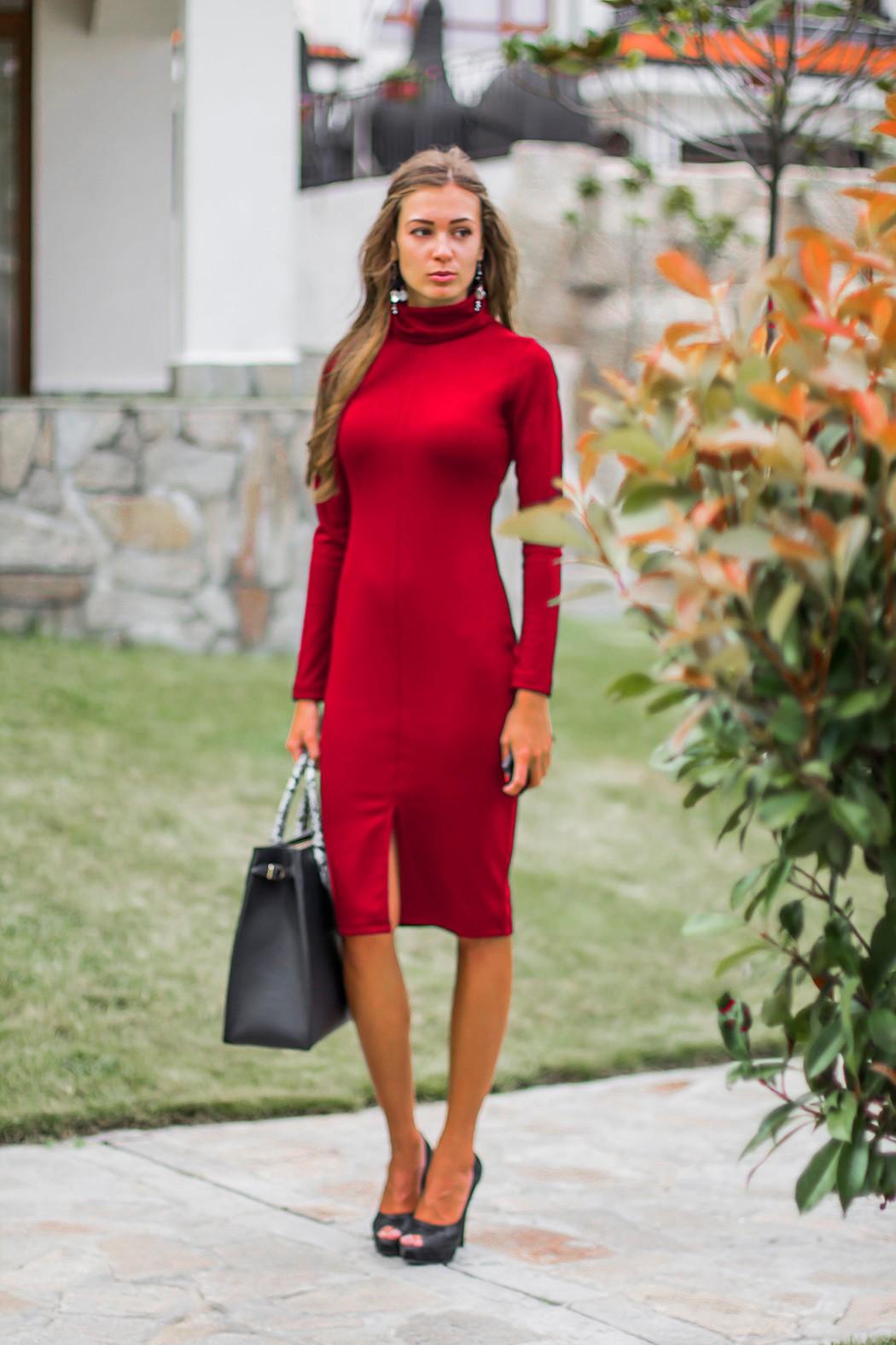 0b600668f6d Червена рокля Стефания. Откажи Покажи всички снимки