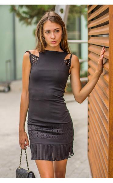 Сексапилна мини рокля Карли _14303