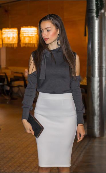 Блуза с панделка _14377
