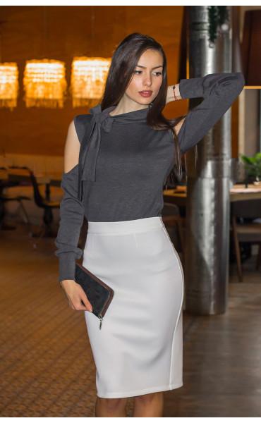 Блуза с панделка _14378