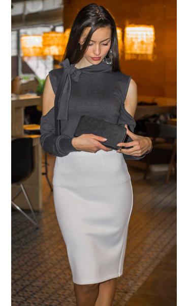 Блуза с панделка _14379