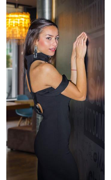 Елегантна рокля с пайети_14400