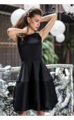 Черна рокля Принцес