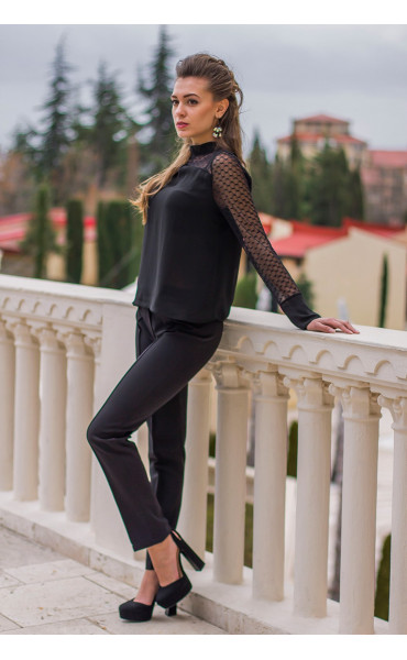 Елегантна блуза Лара  _14594
