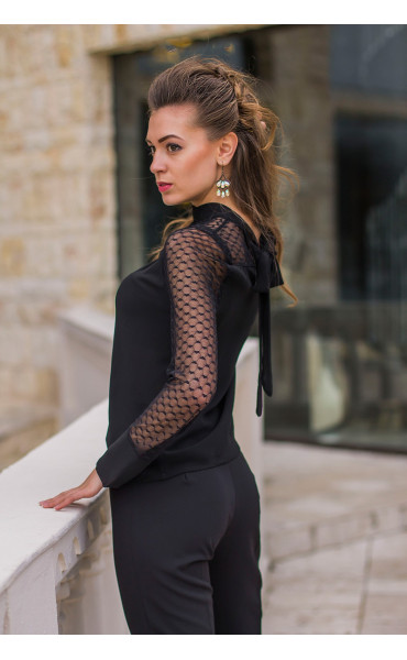 Елегантна блуза Лара  _14600