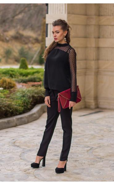 Елегантна блуза Лара  _14602