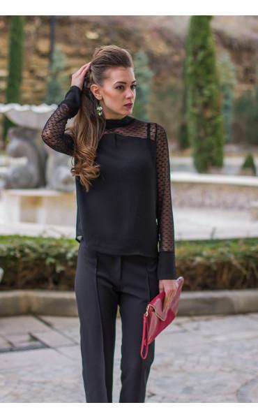 Елегантна блуза Лара  _14603