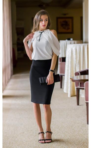 Блуза с панделка Каралайн _14655