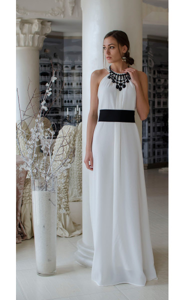 Бяла официална рокля Наполи_14841