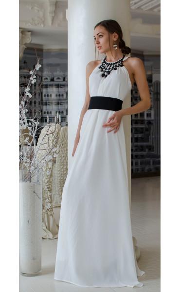 Бяла официална рокля Наполи_14842