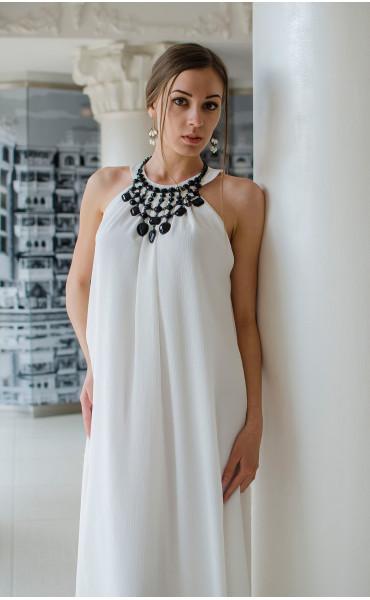 Бяла официална рокля Наполи_14846