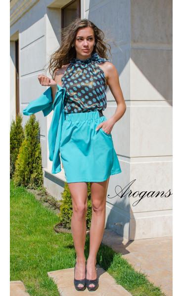 Блуза на точки_14862