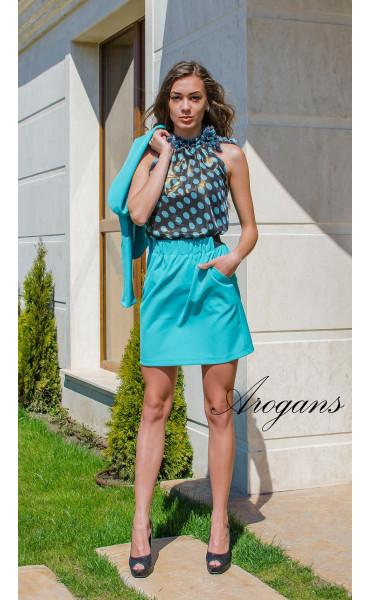 Блуза на точки_14863