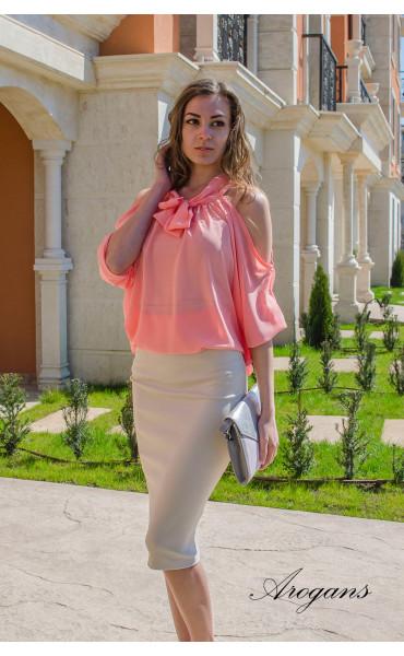 Ефирна блуза Корал _14900