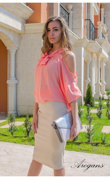 Ефирна блуза Корал _14901