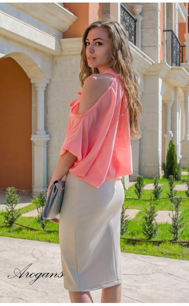 Ефирна блуза Корал _14902