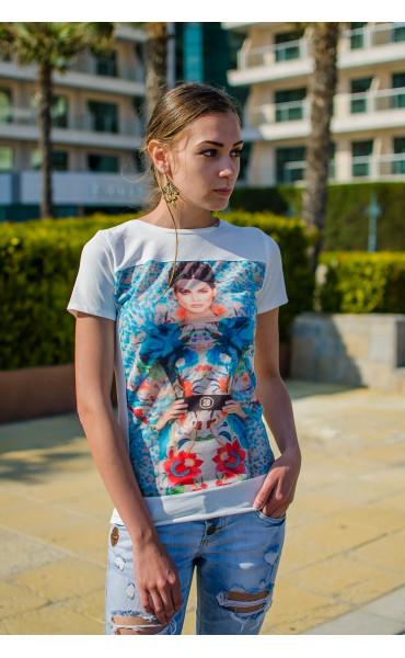 Блуза с принт Моника_15029