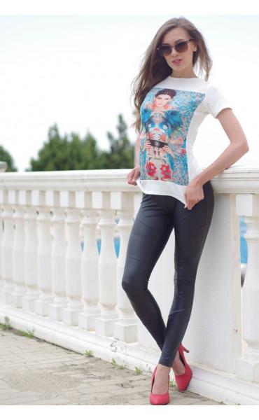 Блуза с принт Моника_15034
