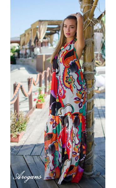 Дълга лятна рокля Tropicana_15327