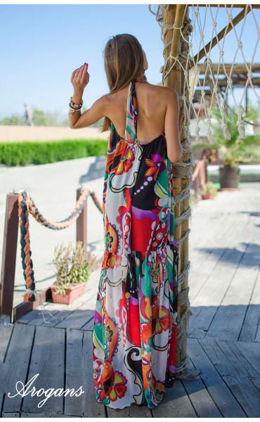 Дълга лятна рокля Tropicana_15330