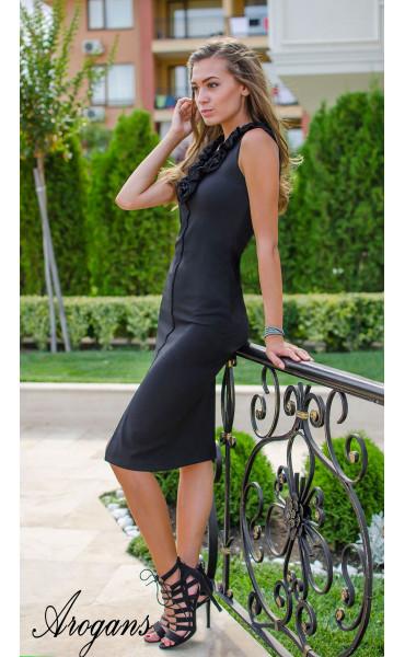 Елегантна рокля Black Swan_15449
