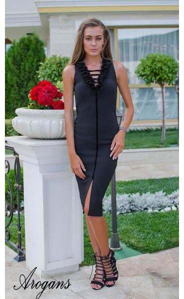 Елегантна рокля Black Swan_15451