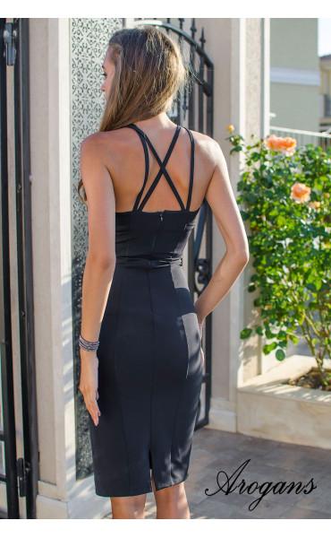 Елегантна рокля Black Queen_15459