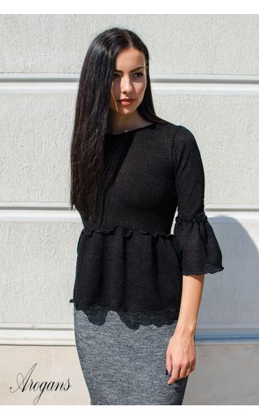 Кокетна блузка от плетиво Cherry_15791